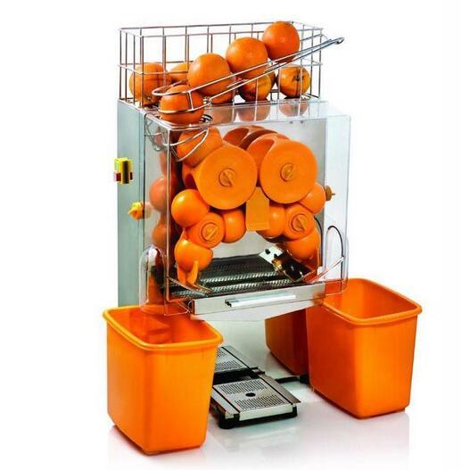 五个橙子自动榨汁机